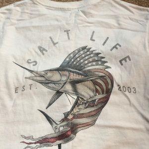 Like new, youth large Salt Life shirt